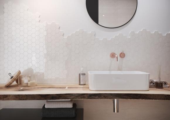Jesienne inspiracje naturą w Twojej łazience Dom, LIFESTYLE - Na szczęście inspiracje i ciekawe pomysły aranżacyjne są wokół nas tuż na wyciągnięcie ręki. Wystarczy wyjrzeć przez okno, zachwycić się jesienną aurą i przenieść jej atmosferę wprost do swojej łazienki.