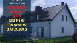 Dom w Czernicy Wrocławskiej - idealne miejsce do życia Dom, LIFESTYLE - Dom usytuowany w Czernicy Wrocławskiej! Zlokalizowanej zaledwie 7 km od granic Wrocławia. Domy znajdować się będą na cichym i spokojnym, kameralnym osiedlu domów jednorodzinnych. Czernica jest doskonale skomunikowana z Wrocławiem, Jelczem i miejscowościami pobliskimi.